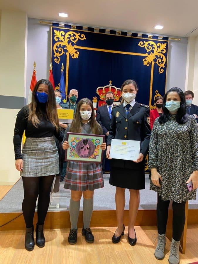 Entregados los premios del I Certamen de Pintura por la Igualdad de Género de la Delegación del Gobierno en La Rioja 5