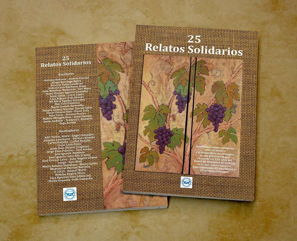 51 autores e ilustradores hacen posible '25 Relatos Solidarios' para colaborar con el Banco de Alimentos 1