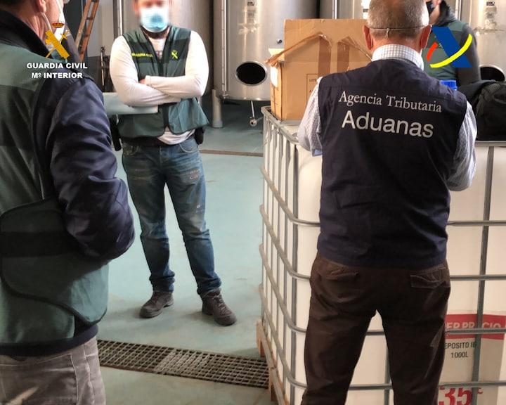 VÍDEO: Desmantelada en La Rioja una de las mayores destilerías ilegales de whisky 4