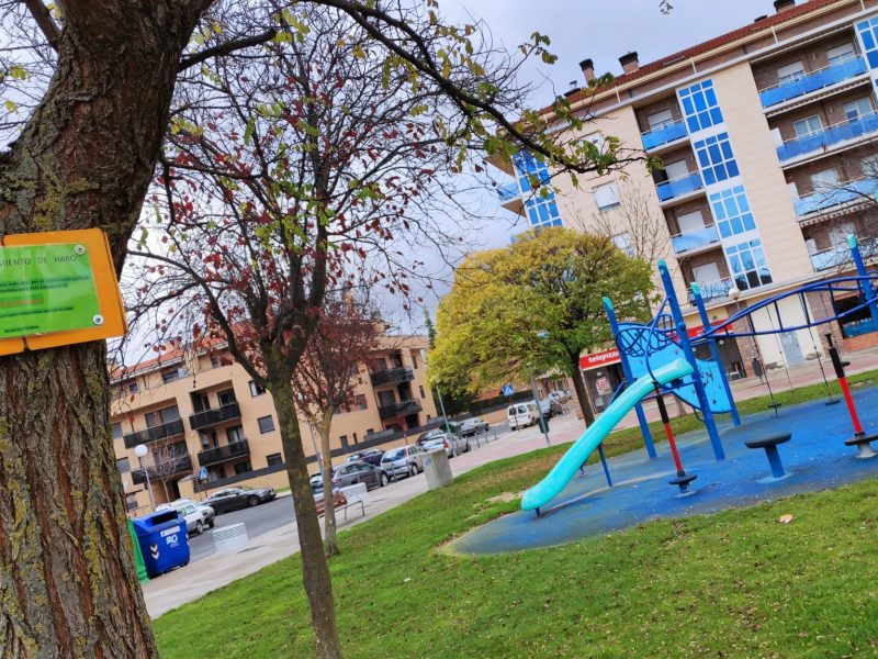 Parque infantil de Haro