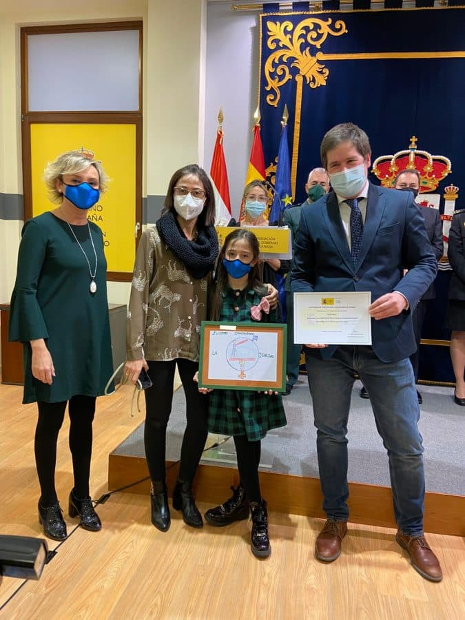 Entregados los premios del I Certamen de Pintura por la Igualdad de Género de la Delegación del Gobierno en La Rioja 2