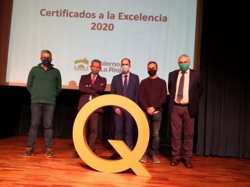 Corazonistas Haro Premio Excelencia