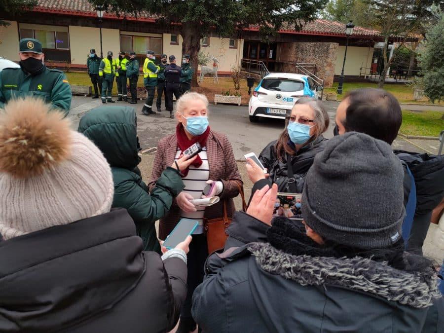 Javier Martín, residente del Hogar Madre Dios de Haro, primer vacunado frente a la COVID en La Rioja 4