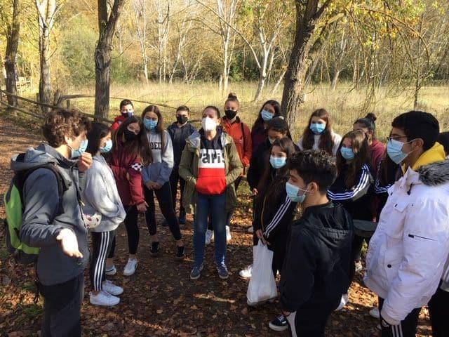 Alumnos del IES Rey Don García realizan recorridos de educación ambiental por el Najerilla e Iregua 6