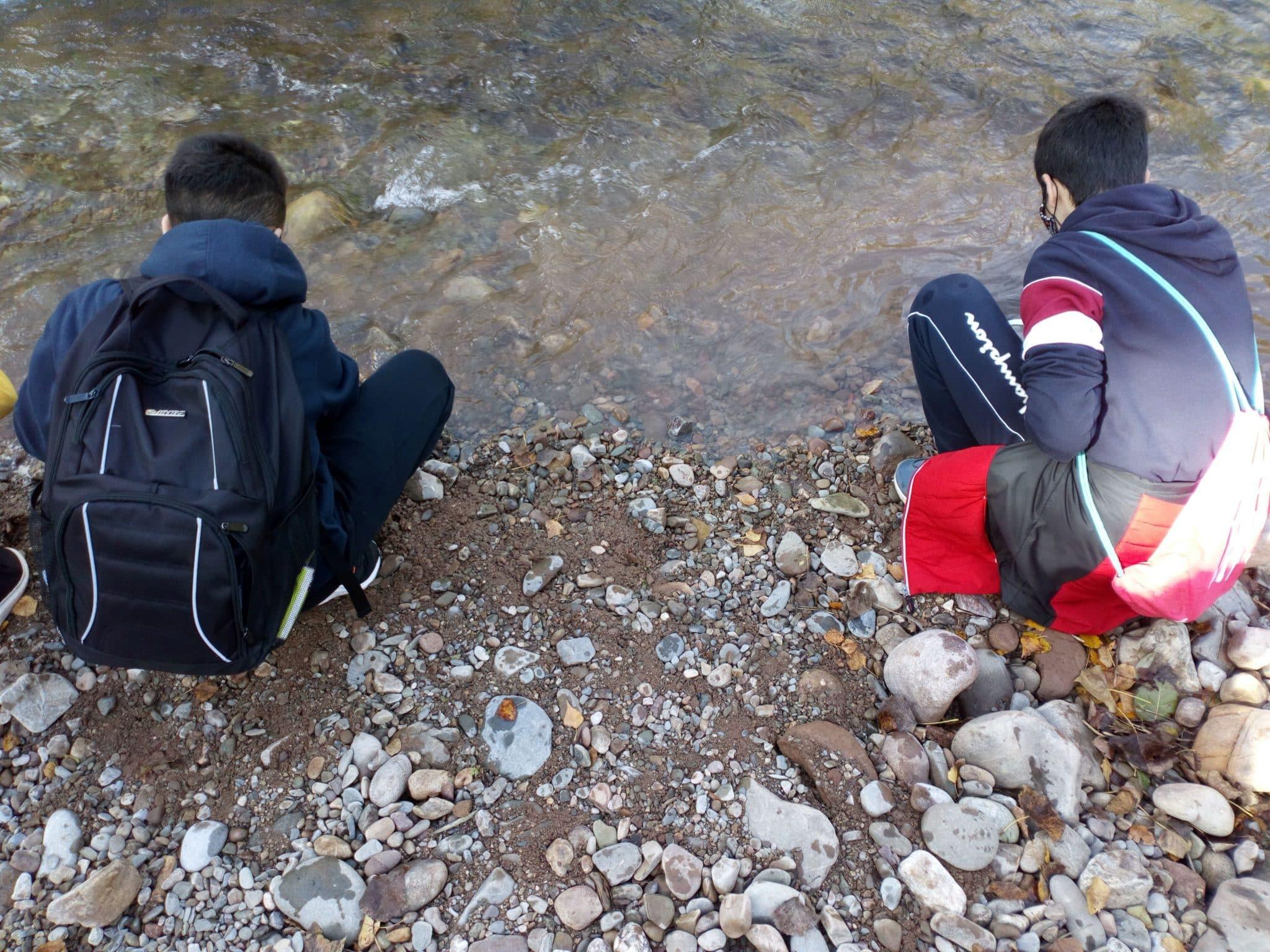 Alumnos del IES Rey Don García realizan recorridos de educación ambiental por el Najerilla e Iregua 4