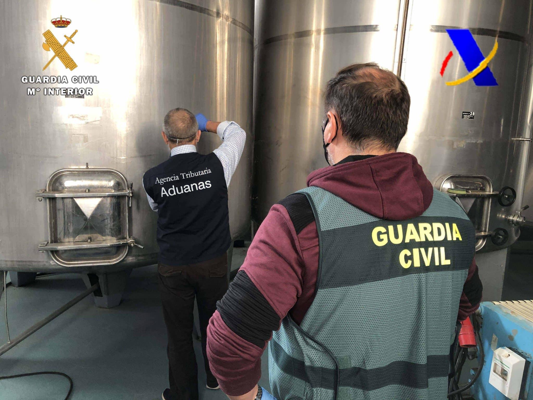 VÍDEO: Desmantelada en La Rioja una de las mayores destilerías ilegales de whisky 1