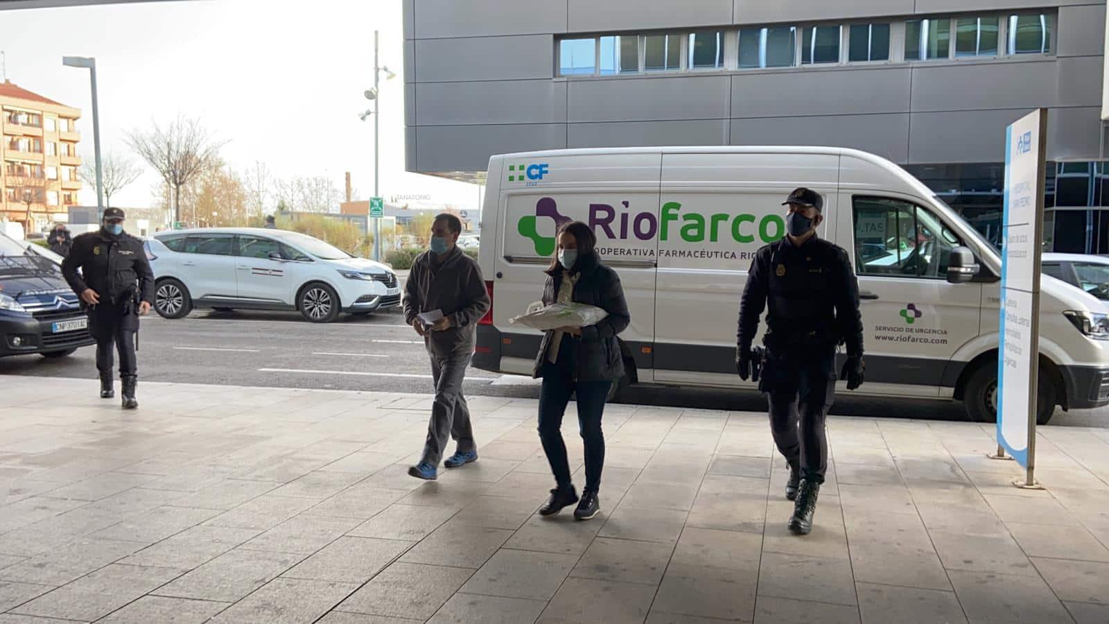 La Rioja comienza la vacunación frente a la COVID de los profesionales sanitarios de primera línea 9