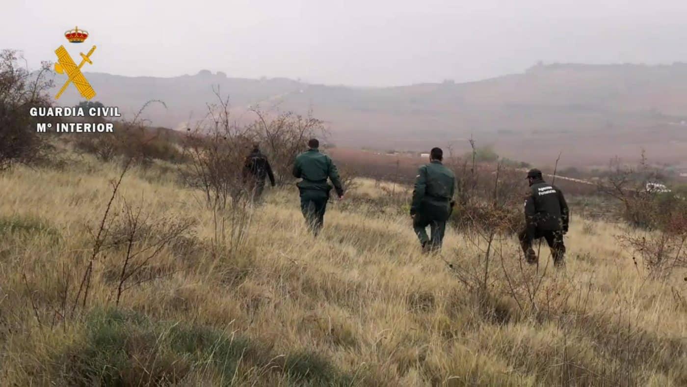 La Guardia Civil en La Rioja aumenta los controles en la búsqueda de cebos envenenados 3