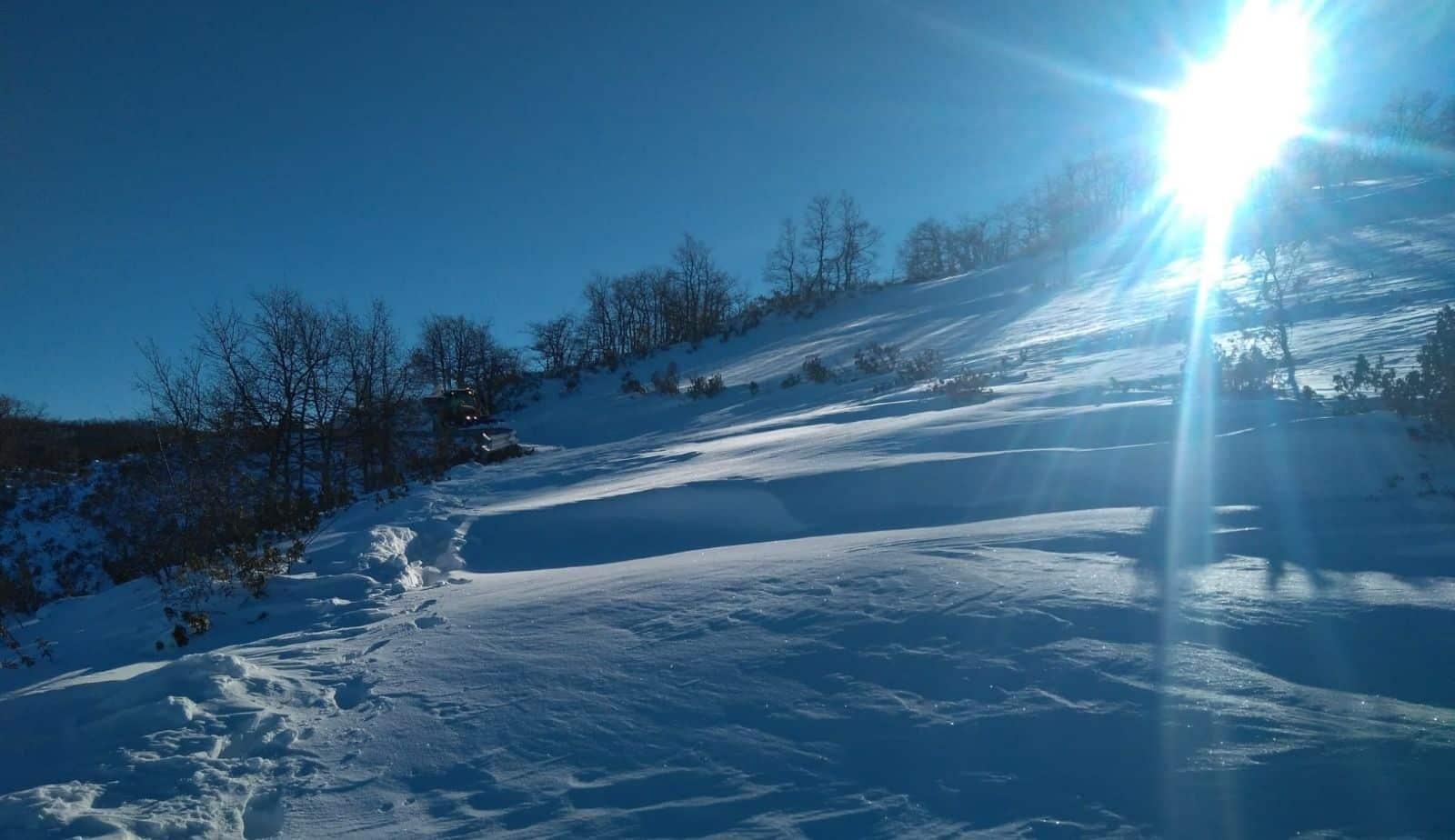El Collado nieve