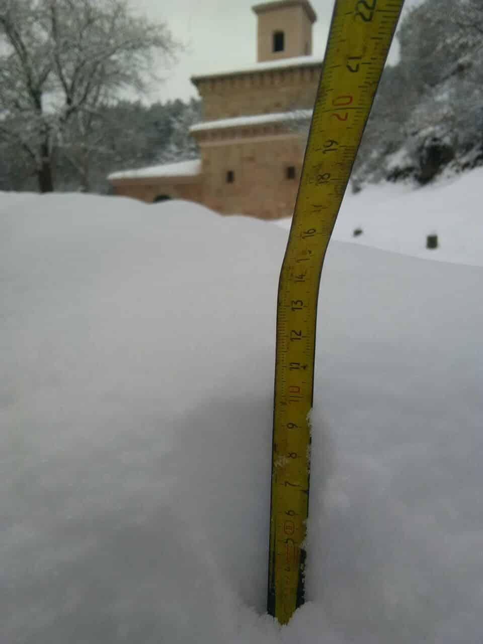 DIRECTO: 'Filomena' hace acto de presencia en La Rioja: nieve, frío y hielo 5