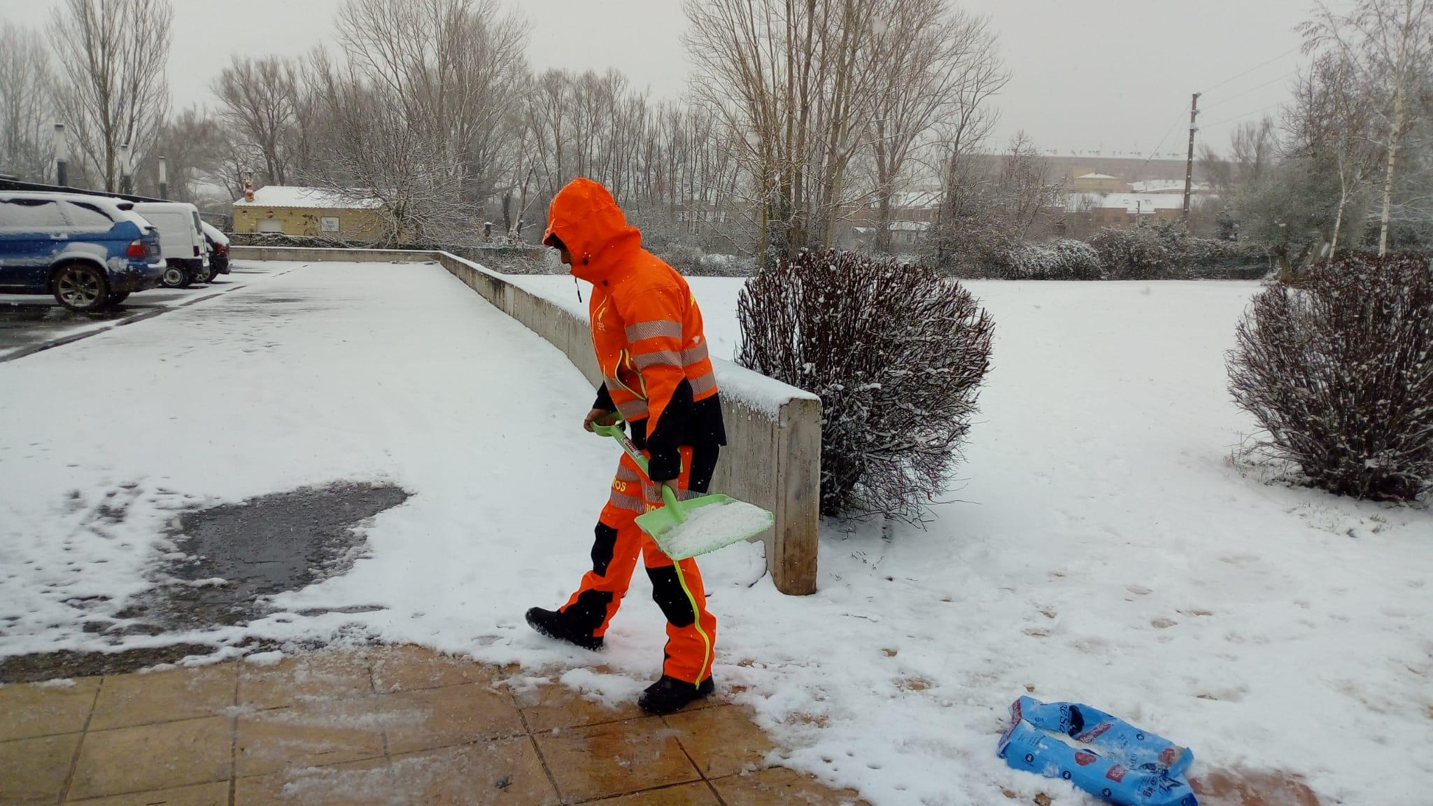 DIRECTO: 'Filomena' hace acto de presencia en La Rioja: nieve, frío y hielo 15