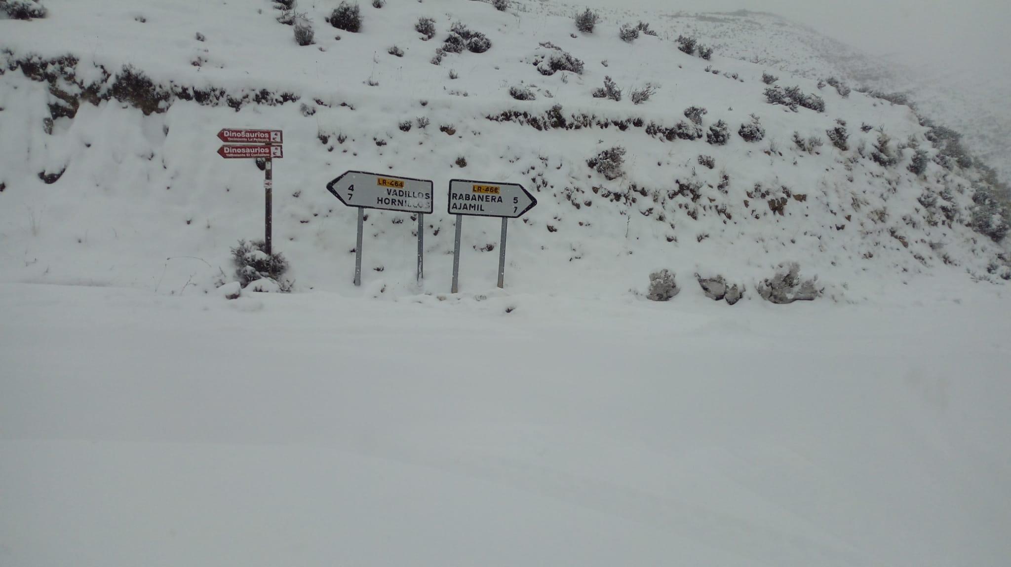 DIRECTO: 'Filomena' hace acto de presencia en La Rioja: nieve, frío y hielo 18