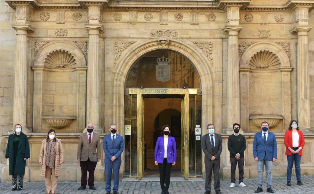 """Andreu defiende que los presupuestos aprobados son """"los más ambiciosos en la historia de La Rioja"""" 1"""