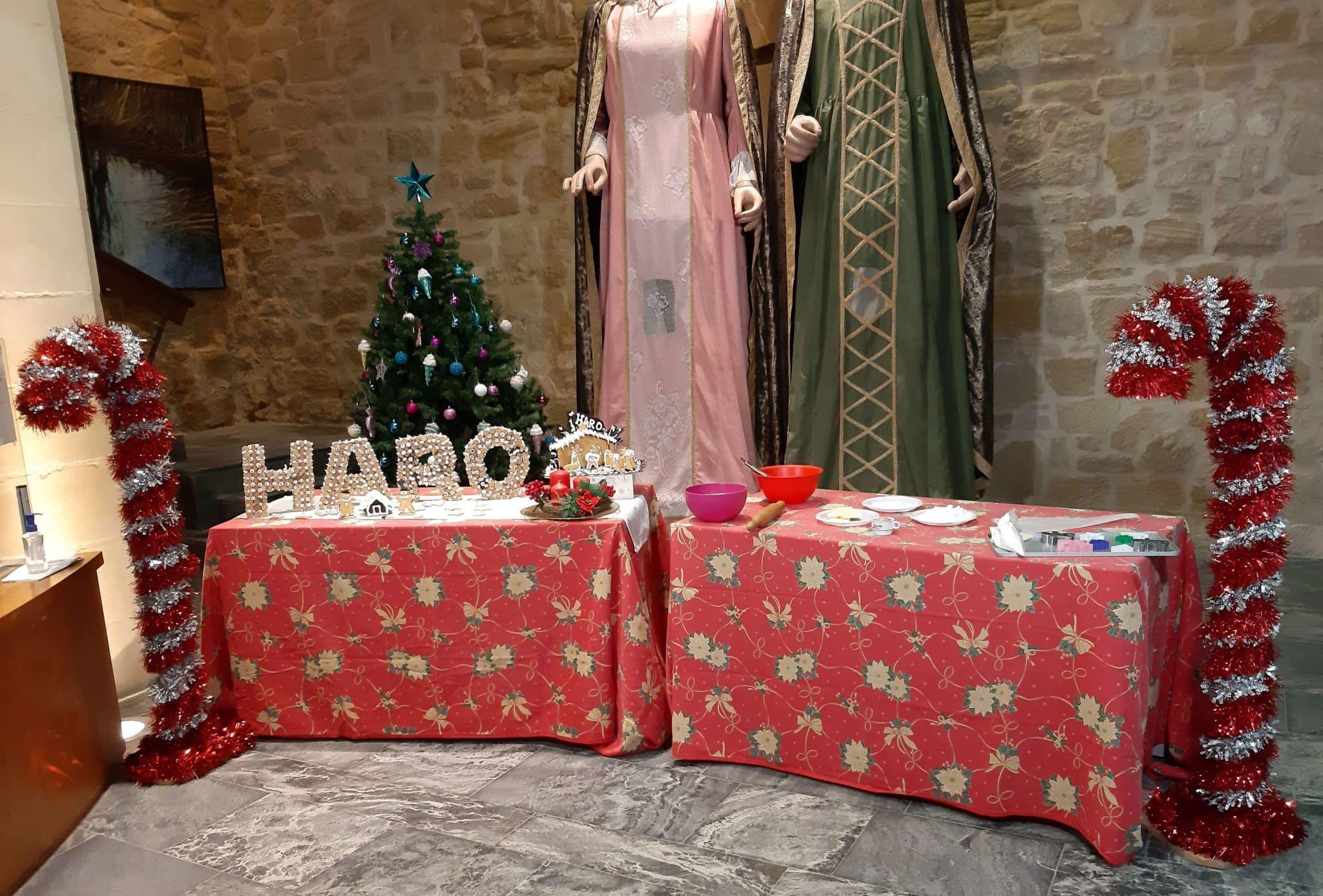 El Rey Melchor prepara en Haro las galletas de Navidad de Pastelería Yturbe 4