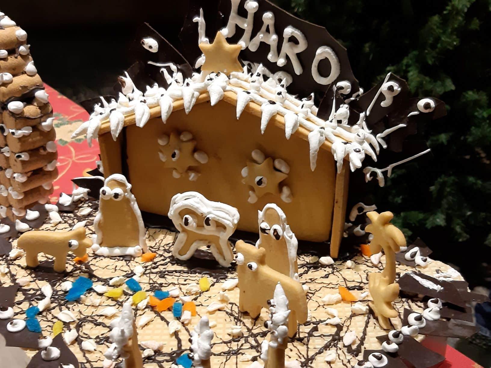 El Rey Melchor prepara en Haro las galletas de Navidad de Pastelería Yturbe 5
