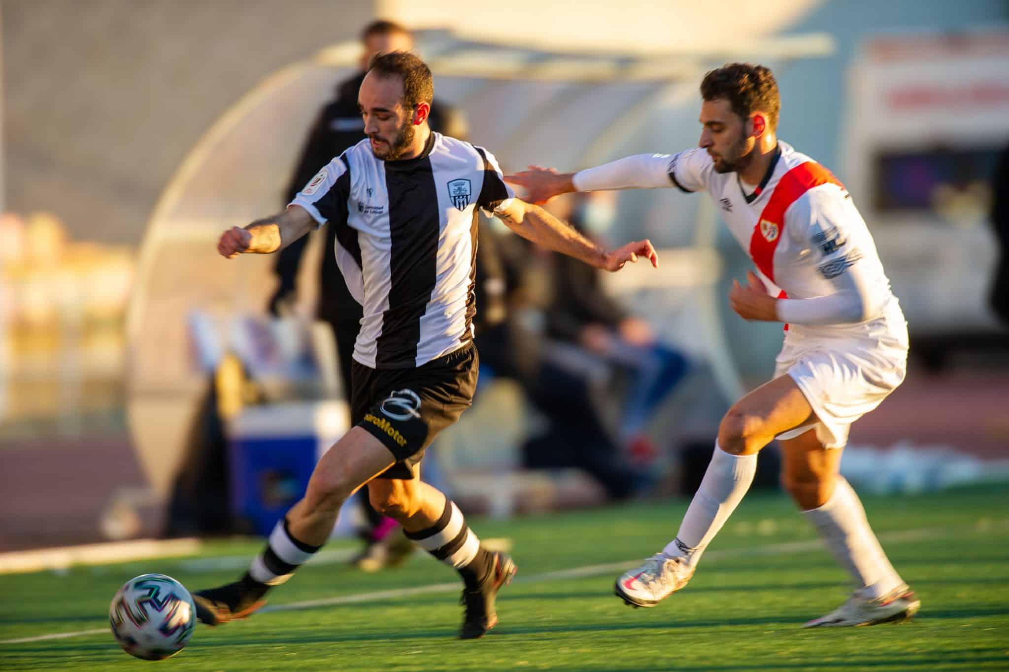 El Rayo apaga la ilusión del Haro en la Copa 1