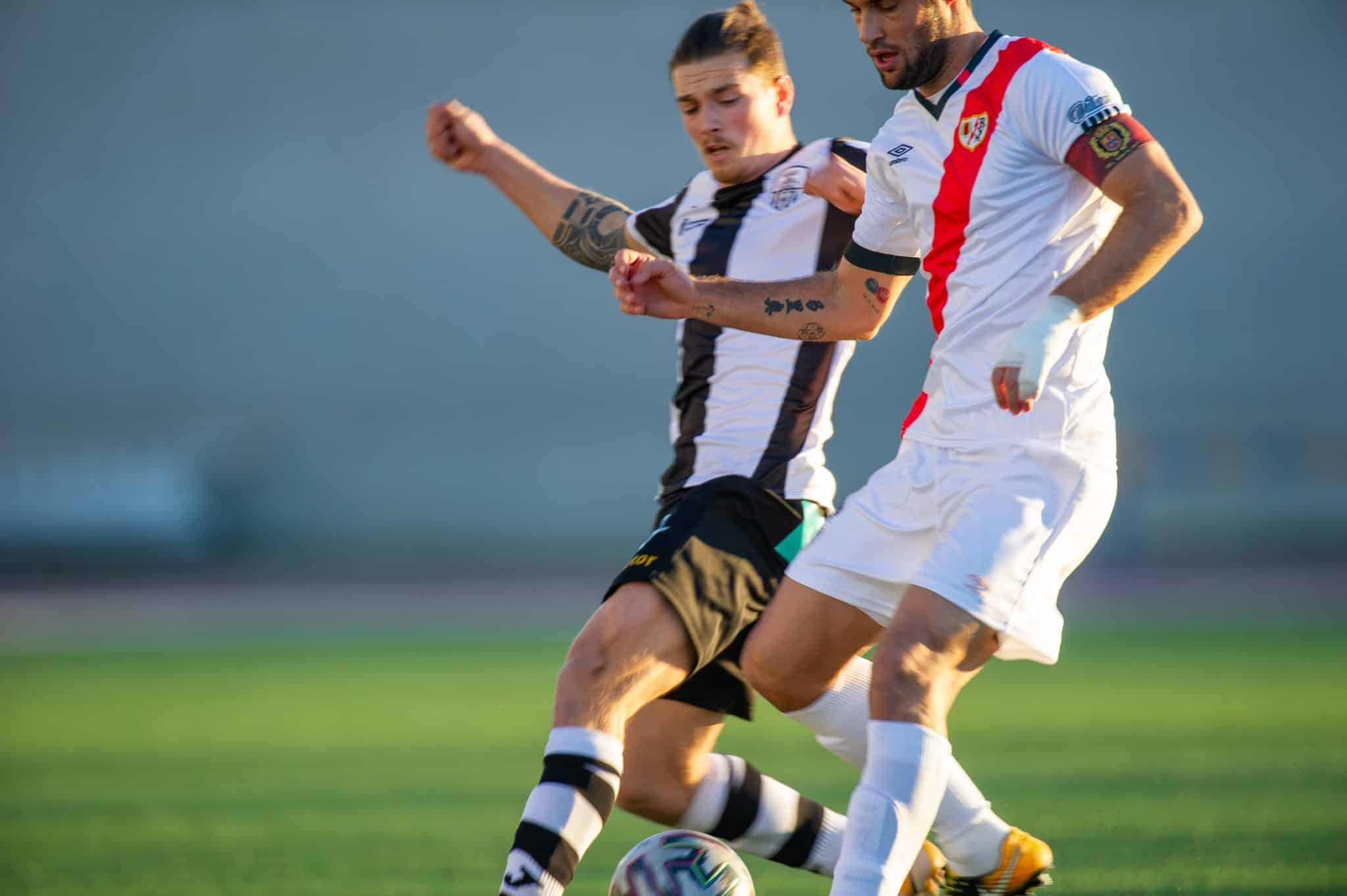 El Rayo apaga la ilusión del Haro en la Copa 11
