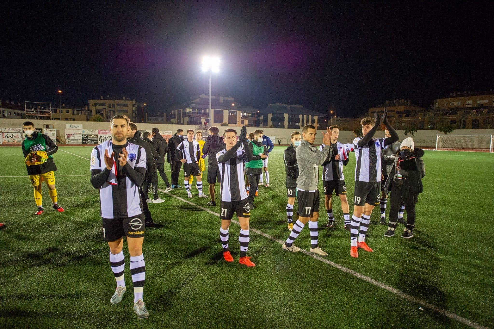 El Rayo apaga la ilusión del Haro en la Copa 4