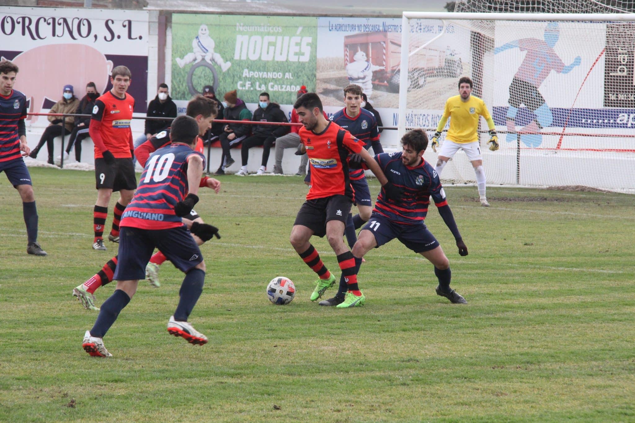 La Calzada arranca 2021 con derrota ante el Anguiano 1