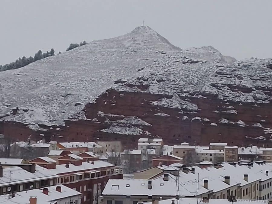 DIRECTO: 'Filomena' hace acto de presencia en La Rioja: nieve, frío y hielo 7
