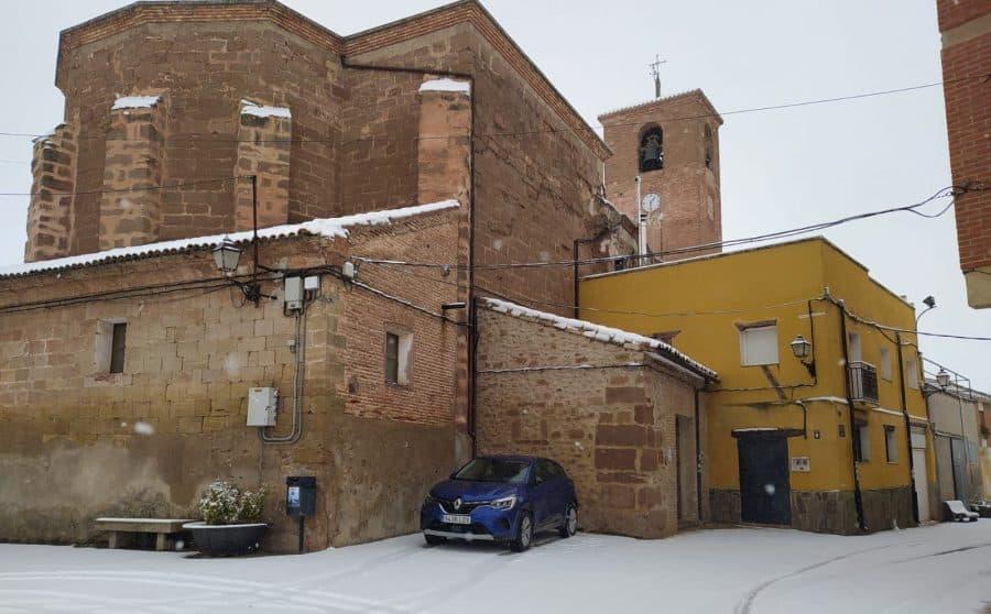 DIRECTO: 'Filomena' hace acto de presencia en La Rioja: nieve, frío y hielo 11