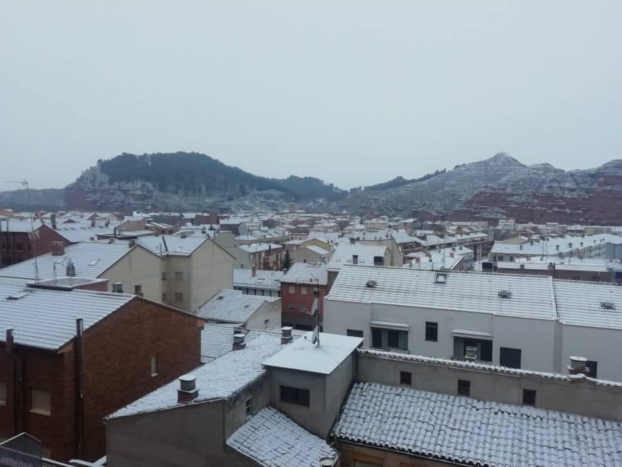 DIRECTO: 'Filomena' hace acto de presencia en La Rioja: nieve, frío y hielo 13