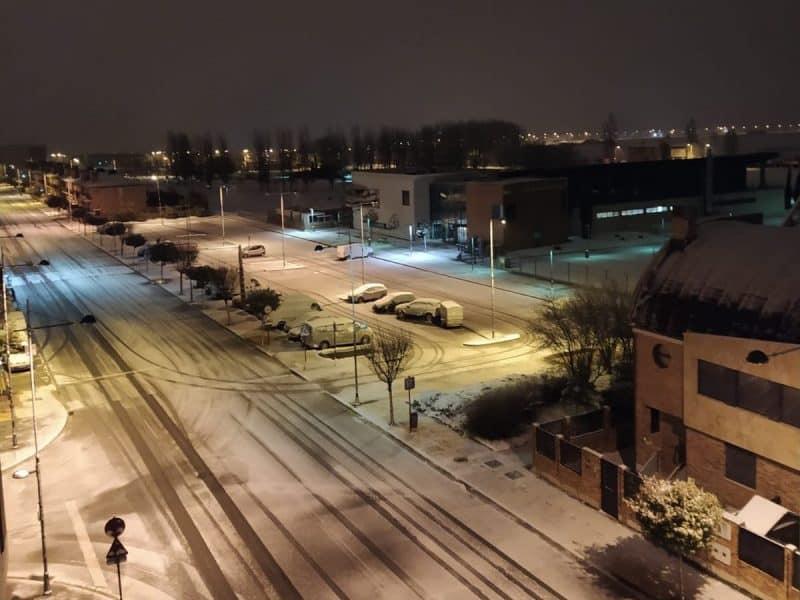 Nieve en Haro