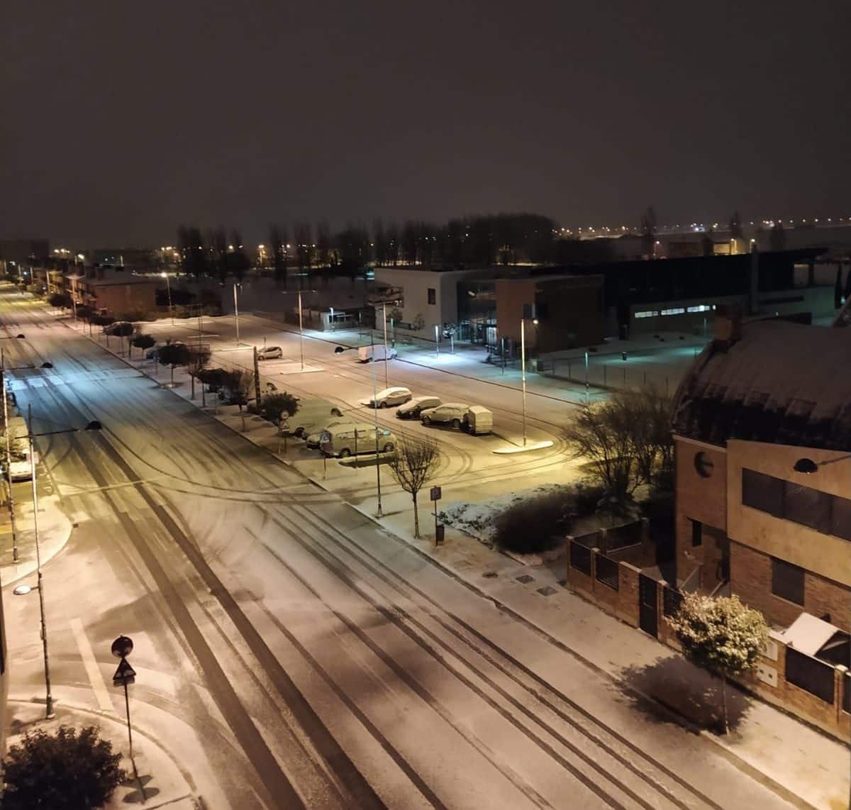 Primera nevada del año en La Rioja: cadenas en la AP-68 y seis puertos cerrados 6
