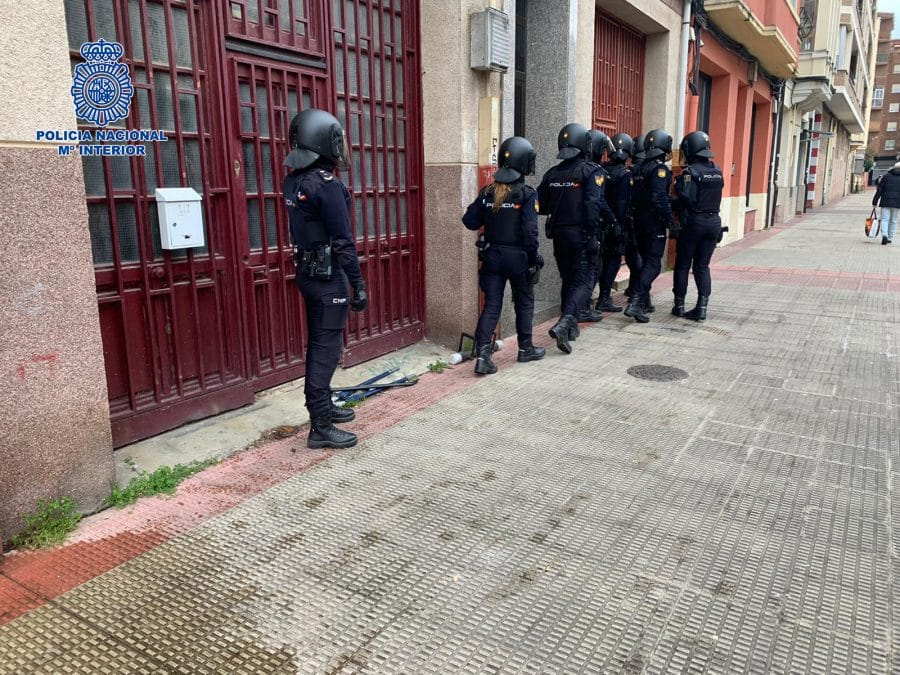 La Policía detiene a la autora de siete robos a punta de navaja en establecimientos de Logroño 1