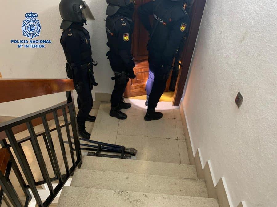 La Policía detiene a la autora de siete robos a punta de navaja en establecimientos de Logroño 3