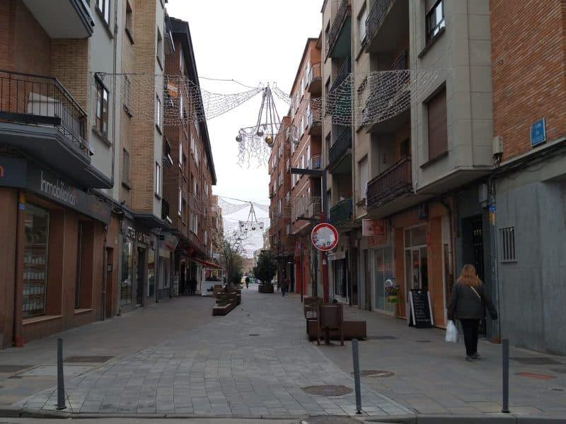 Calle en Santo Domingo de la Calzada