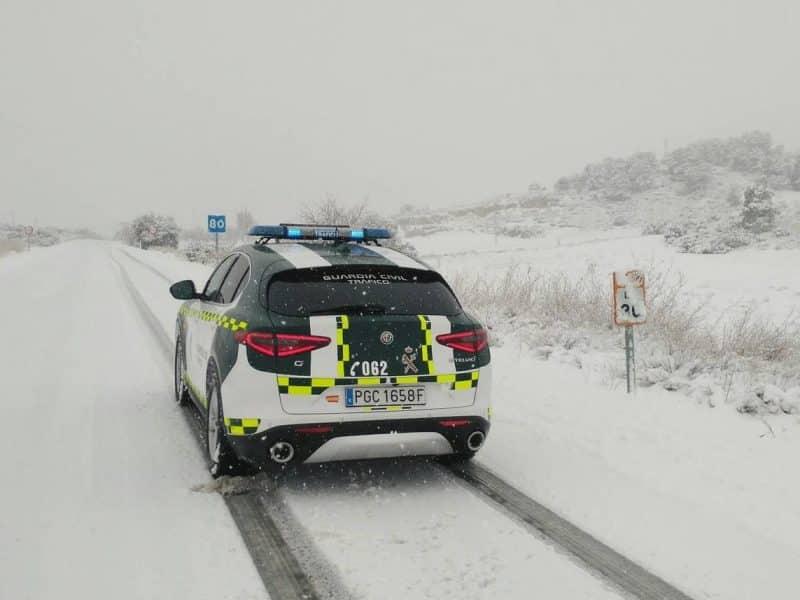 Guardia Civil nieve