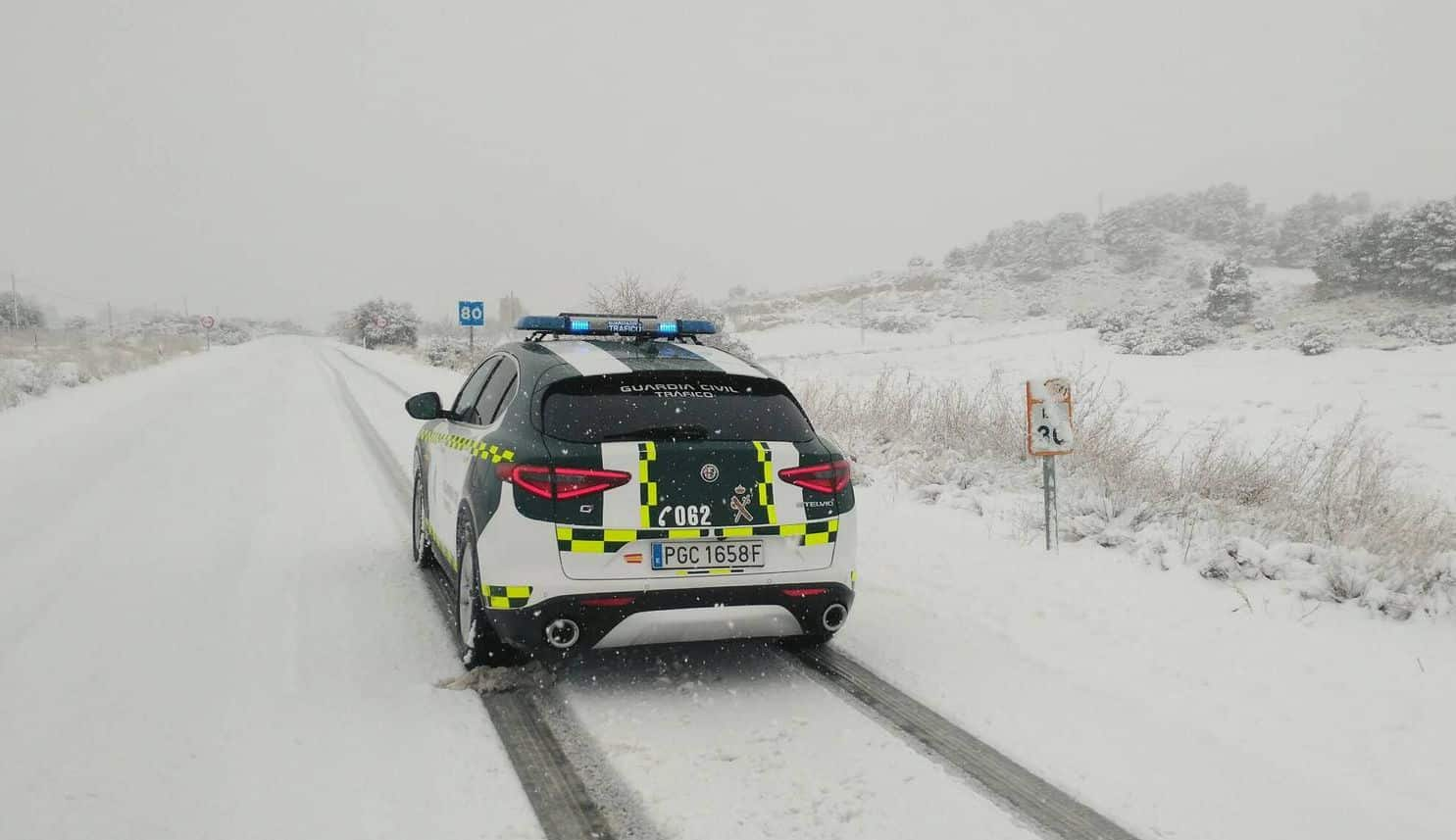 Guardia Civil nieve