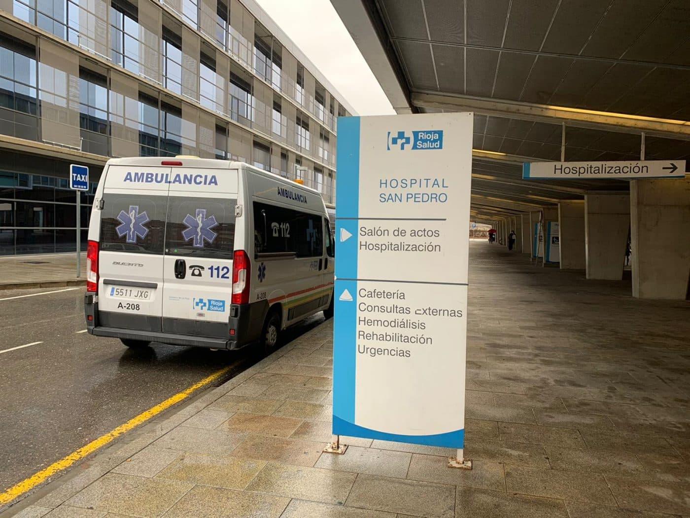Ambulancia en el San Pedro
