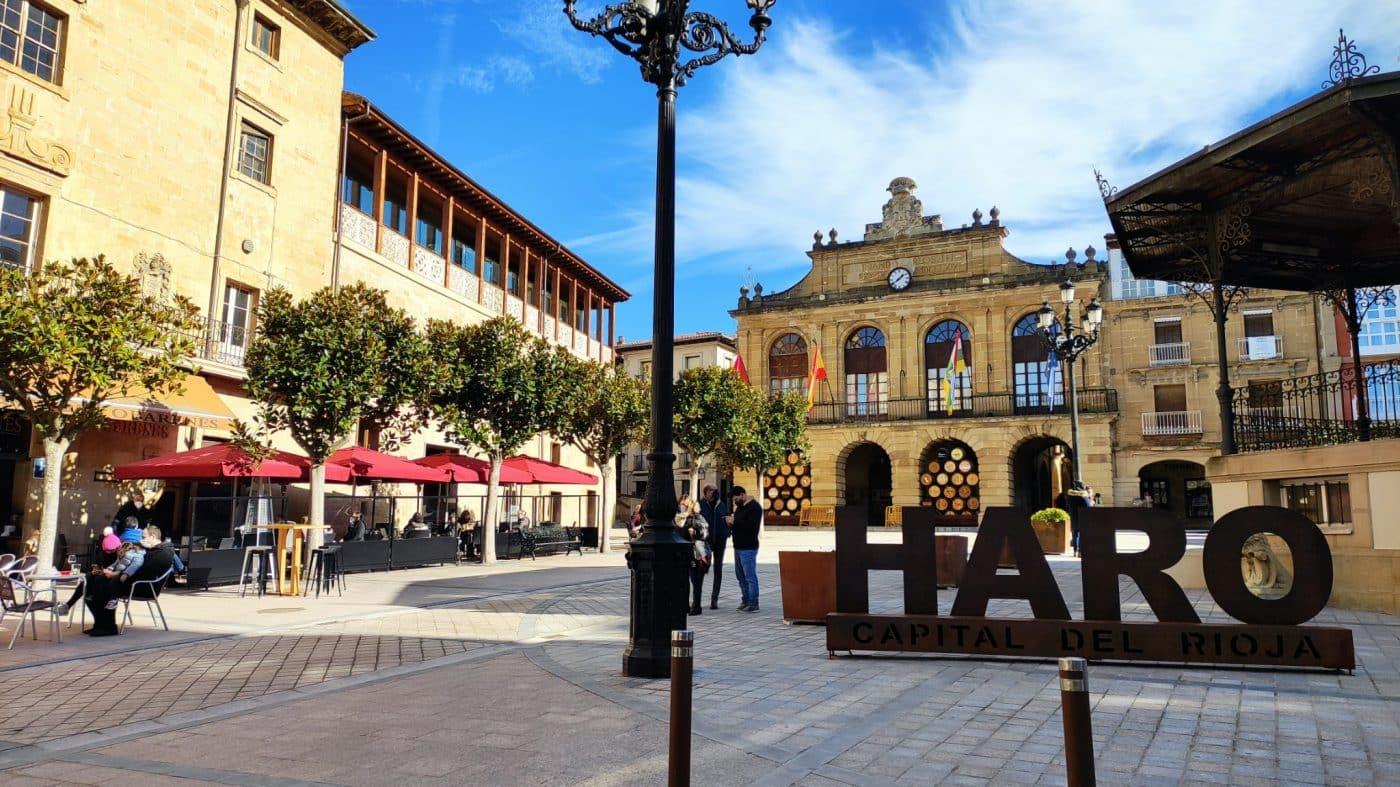 Haro plaza de la Paz