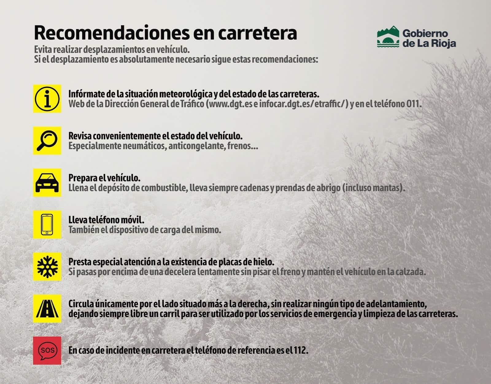 DIRECTO: 'Filomena' hace acto de presencia en La Rioja: nieve, frío y hielo 1