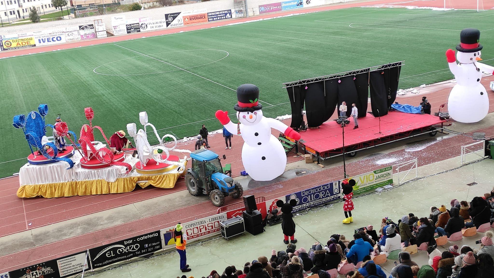 FOTOS: La magia de los Reyes Magos llega a Haro 3