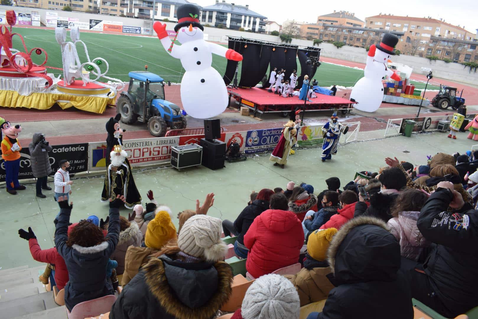 FOTOS: La magia de los Reyes Magos llega a Haro 4