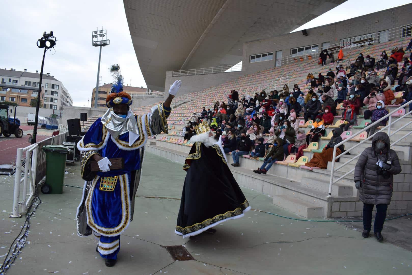 FOTOS: La magia de los Reyes Magos llega a Haro 11