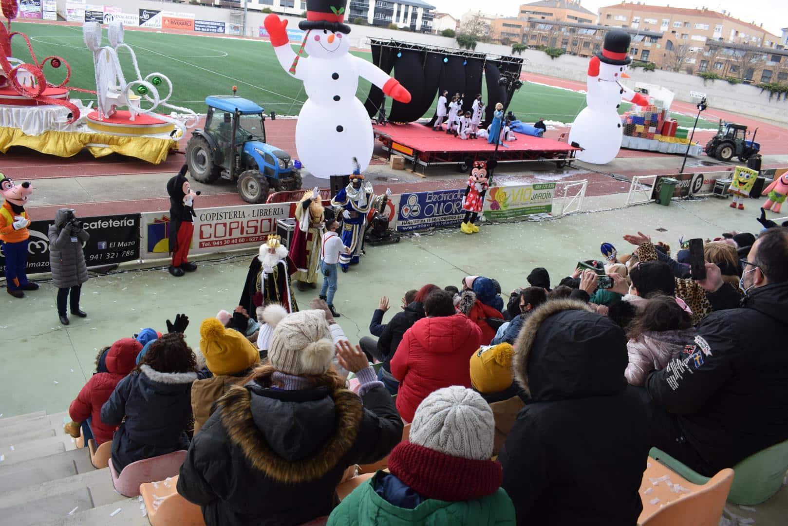 FOTOS: La magia de los Reyes Magos llega a Haro 5