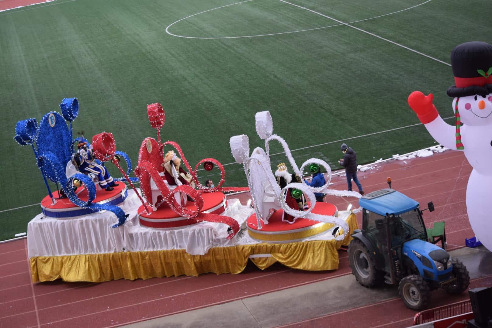 FOTOS: La magia de los Reyes Magos llega a Haro 33