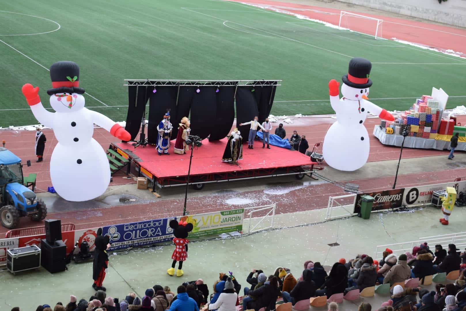 FOTOS: La magia de los Reyes Magos llega a Haro 37