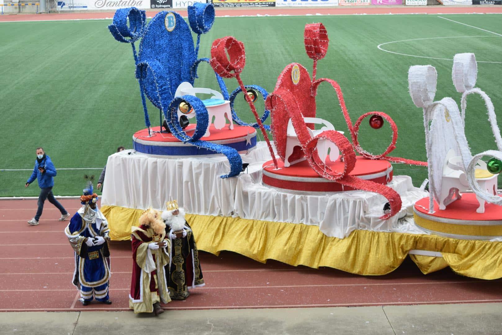 FOTOS: La magia de los Reyes Magos llega a Haro 44