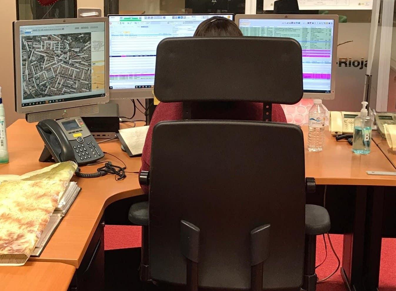 SOS Rioja recibió este sábado casi 1.000 llamadas por los efectos de 'Filomena' 1