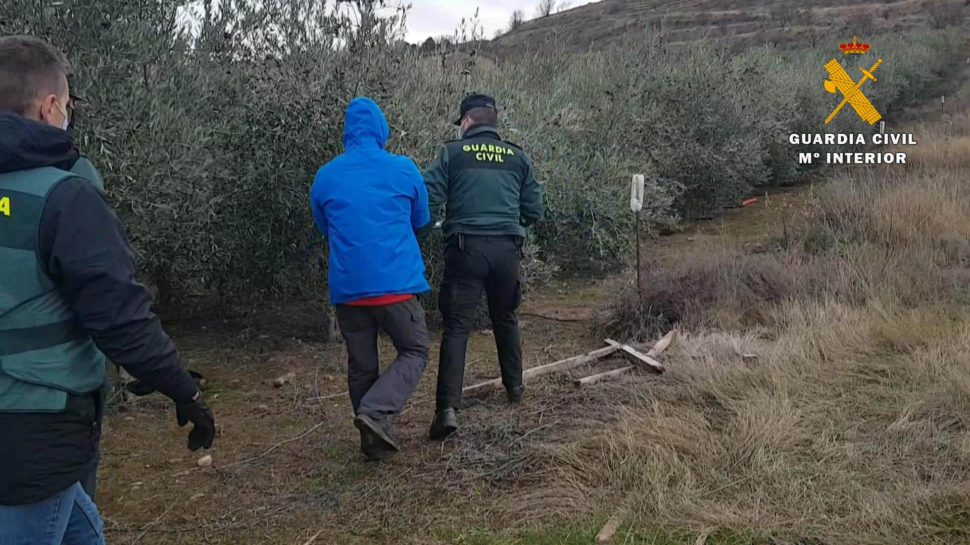 La Guardia Civil detiene al presunto autor del robo de varios contenedores en La Rioja 3