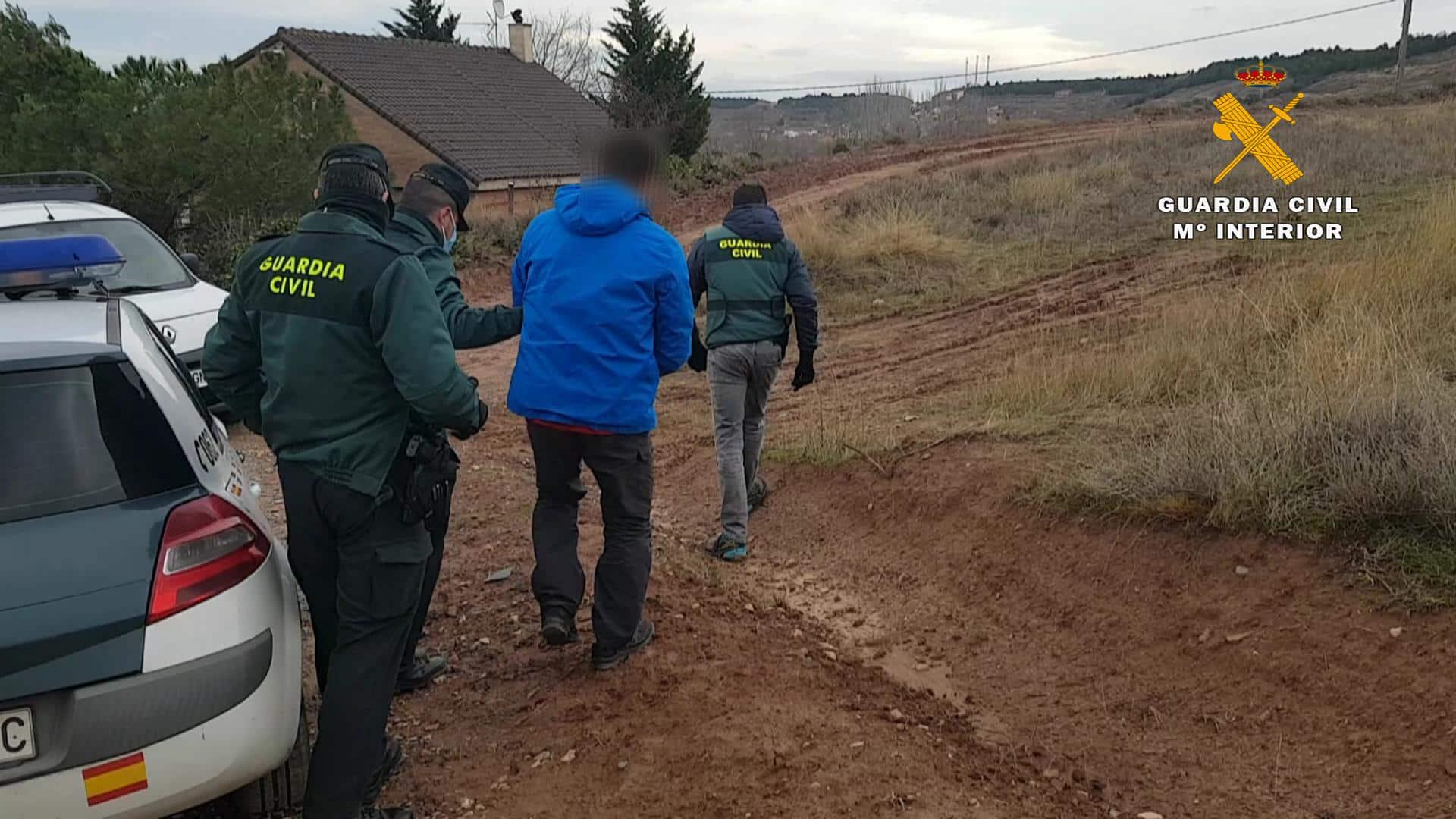 La Guardia Civil detiene al presunto autor del robo de varios contenedores en La Rioja 2