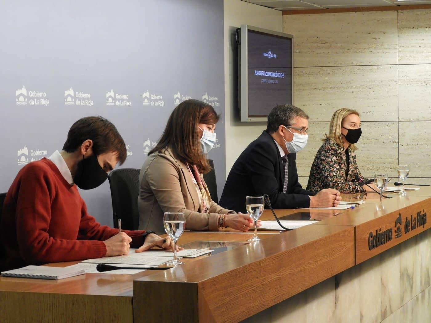 La Rioja suministra el 100 % de la primera dosis de la vacuna a residencias y sanitarios de primera línea 1