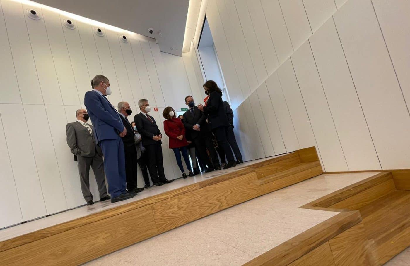 VÍDEO: Ábalos inaugura de manera oficial el edificio María Díaz de Haro 13