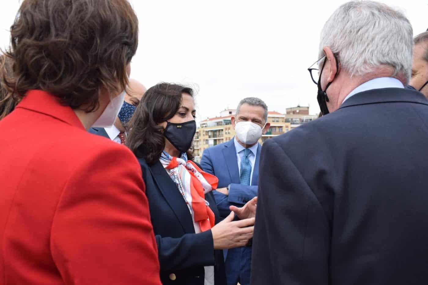 VÍDEO: Ábalos inaugura de manera oficial el edificio María Díaz de Haro 4