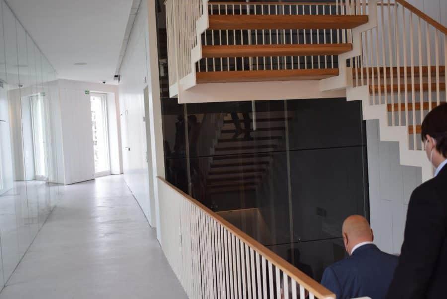 VÍDEO: Ábalos inaugura de manera oficial el edificio María Díaz de Haro 3